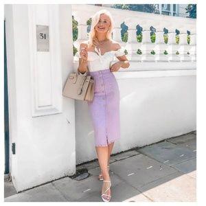 Zara tweed skirt (2083)